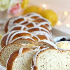 Braided Lemon Anise Bread