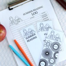Kids Summer Reading Log & Bookmarks FREE Printables