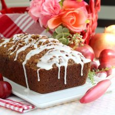 Frosted Applesauce Bread