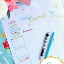 Prayer Journal Printable