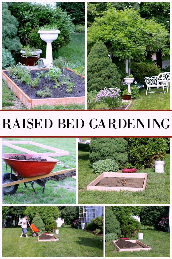 Raised Bed Gardening Tips For Enjoyable And Productive Kitchen Herbs,  Flower And Vegetable Growing In