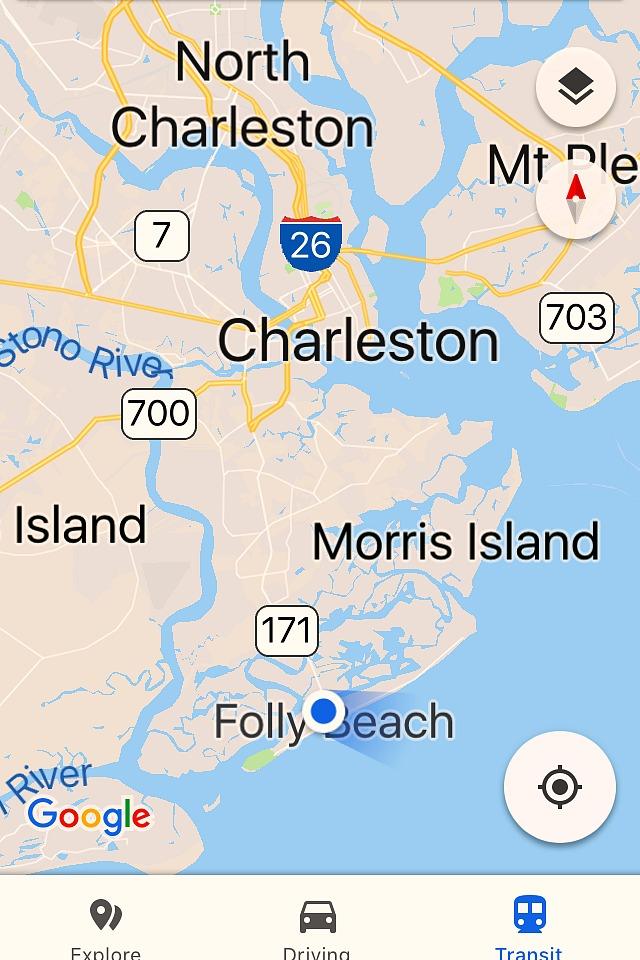 Folly Beach South Carolina Map.Charleston And Folly Beach Getaway Grateful Prayer Thankful Heart