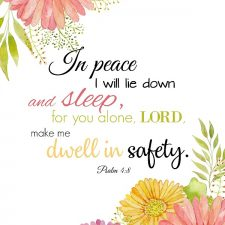 I will Lie Down and Sleep