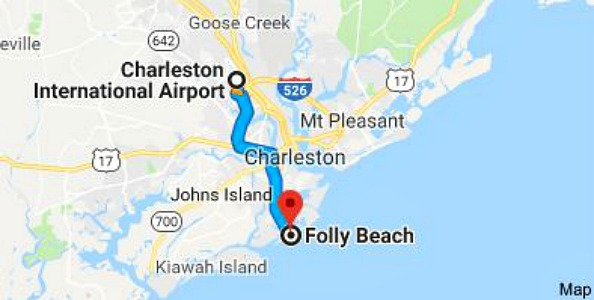 Folly Beach South Carolina Map.Charleston And Folly Beach Getaway Grateful Prayer Thankful Heart
