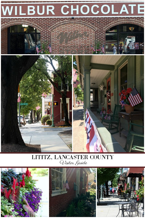 Visitors guide to Lititz, a borough in Lancaster County, Pennsylvania, six miles north of the city of Lancaster. It is a quaint and charming little town with interesting history.