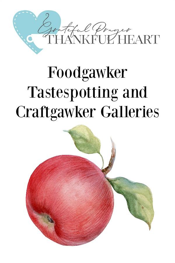 Visit my Foodgawker, Tastespotting and Craftgawker Galleries