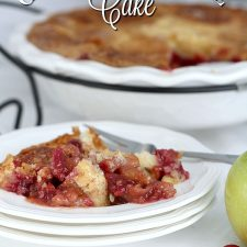 Cranberry Apple Cake