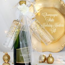 Champagne & Flutes Holiday Gift