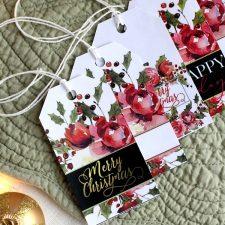 FREE Holiday Gift Tags Printable