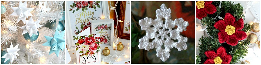 Making a festive and inviting home for the holidays is part of the fun and joy of the season. But what if the years have brought about a huge collection of decorating items that require much time unpacking, arranging and then packing up to store for another year. Take a peek at our downsized Holiday Home Tour.
