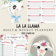 La La Llama Weekly & Daily Planners