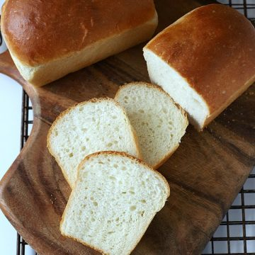 Homemade Potato Bread Small Loaves