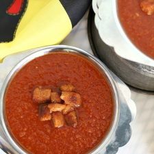 Tomato Bisque from Medieval Times