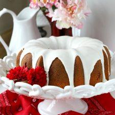 Red Velvet Marbled Cake