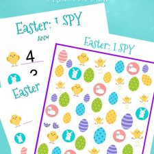 I Spy Easter Printable