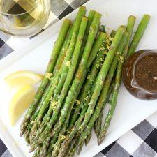 Balsamic Vinaigrette Asparagus