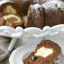Surprise Carrot Bundt Cake