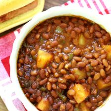 Stove Top or Oven Hawaiian Baked Beans