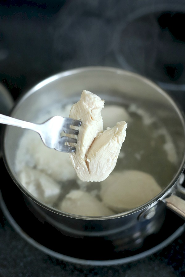 How to make a simple recipe of chicken and rice when puppy has tummy troubles recommended by veterinarians to help dogs recover from diarrhea and/or vomiting.