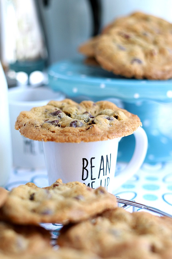 A perfect balance of crunch on the outside and chewy on the inside, crunchy chocolate chip cookies hit the mark. Loaded with chocolate chunks and so delicious!