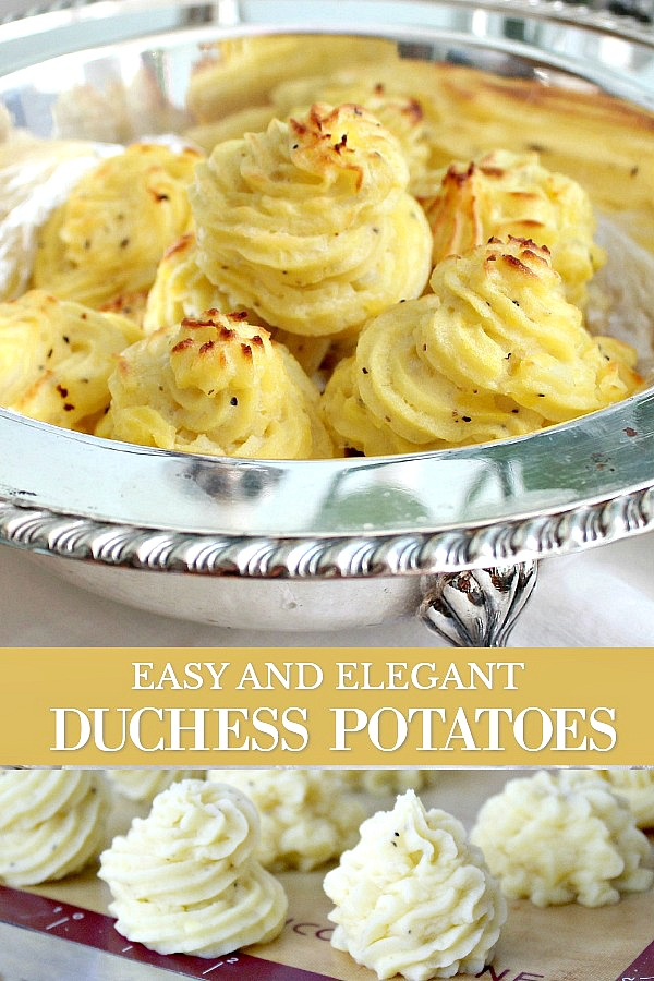 Create an elegant Downton Abbey dinner of, Decadent Duchess Potatoes with Roasted Cornish Game Hens Baked Asparagus and Crème Brûlée. Easy recipes for a charming evening with friends or your sweetheart.