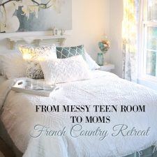 French Country Bedroom Makeover