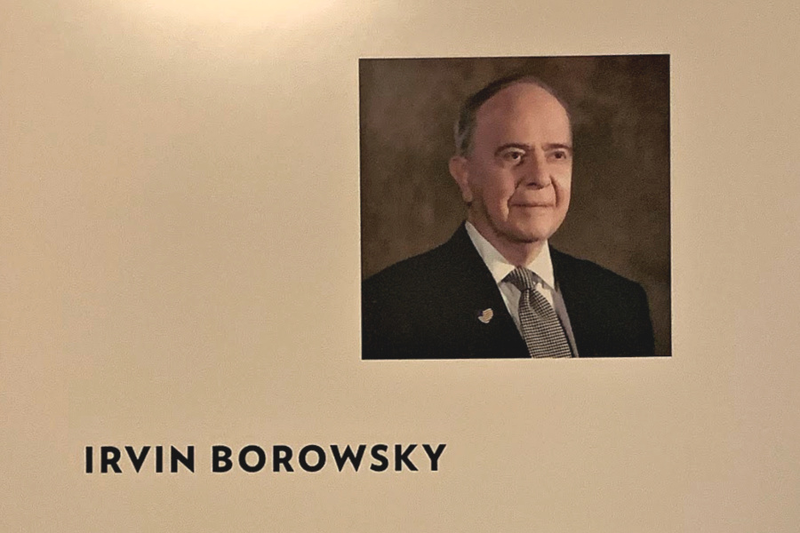 Irvin Borowsky, founder of the National Liberty Museum in Philadelphia, PA
