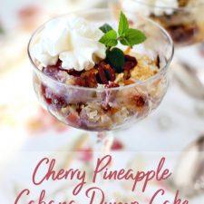 Cherry Pineapple Cabana Cake