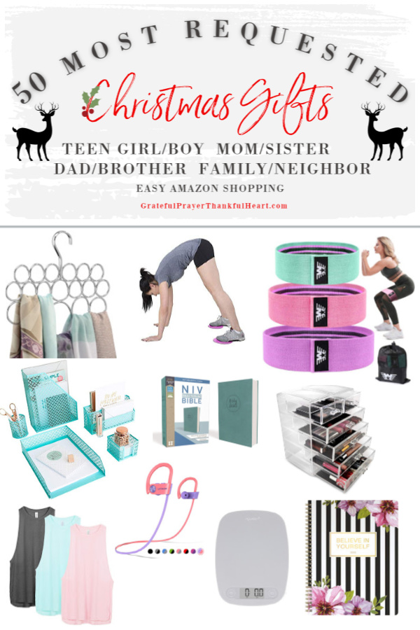 Make gift-giving easy for a fresh start on the New Year! The best and most requested Christmas and holiday shopping guide ideas for organizing home, body and spirit. For those looking to add exercise, tidy the home or read and journal, these gift ideas from Amazon are sure to inspire.