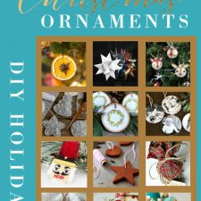 Make it a homespun holiday with handmade Christmas ornaments. A collection of 15 lovely balls, felt, photo, dough, natural and vintage style craft projects.