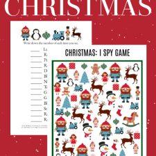 Christmas I SPY