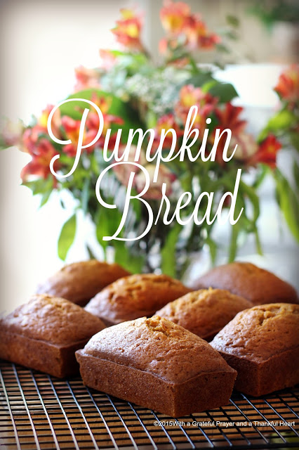 Iconic Pumpkin Bread during the autumn time of year is just a a lovely for dessert as it is for snacking or breakfast. Sliced and served with cream cheese or toasted and butter, it is a yummy and moist treat.