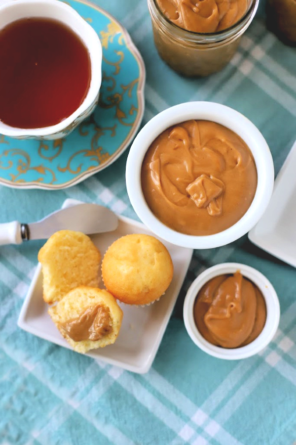 Make muffins, toast, crackers, bread and so much more extra tasty with Amish peanut butter church spread. An easy recipe for snacking, or casual appetizer everyone will love!