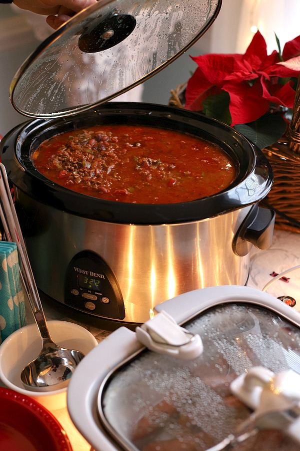 Homemade Chili con Carne from Emeril Lagasse is just right for warming up on a cold day or whenever you are in the mood for a delicious and hearty meal. Make with or without beans.