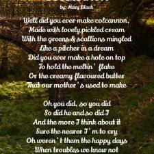 Colcannon Ballad