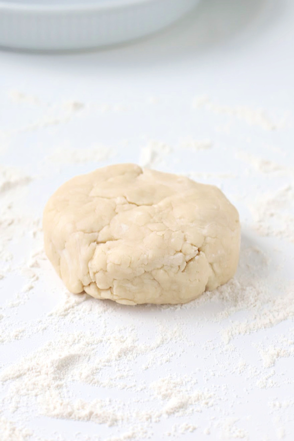 Making you own homemade pie crust is a lot easier than you think and much less expensive. Easy step-by-step photos for a perfect crust using shortening for your apple, pumpkin and savory pies.