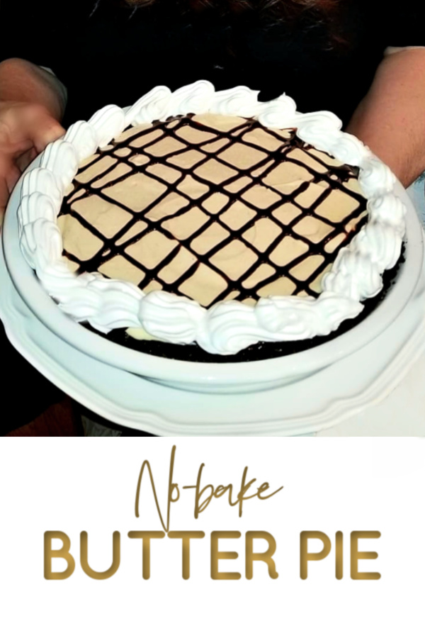 Peanut butter pie made with cream cheese and whipped topping in a heavenly chocolate crust is an easy no bake recipe. Creamy, frosty and easily made from scratch!