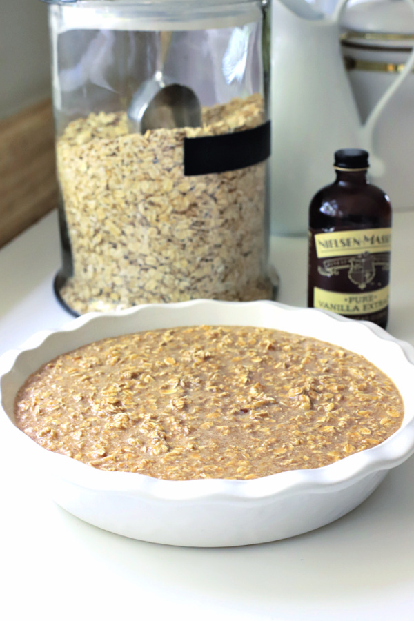recipe for making baked oatmeal