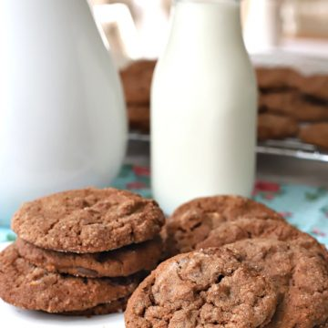 Do you ever get a craving for a delicious, crunchy cookie? Something to satisfy a sweet tooth with a cold glass of milk or hot cup of coffee? Chocolate peanut butter cookies hit the mark combining two favorite ingredients. creating a cookie that is crisp on the outside with a chewy center.