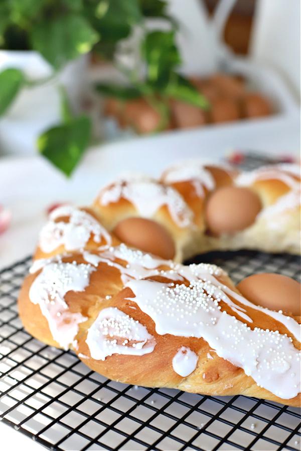Bread machine sweet Easter bread