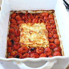 Baked Tomato and Feta Pasta