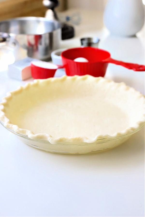 Pie crust for Chocolate Cream Pie