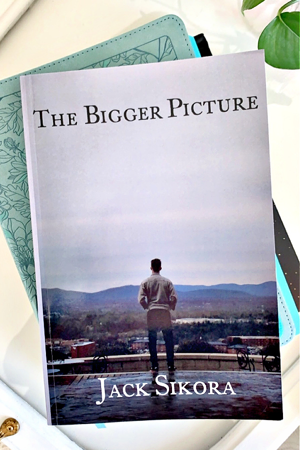 Have you ever been just so overwhelmed, facing huge losses and pain from struggles with a close relationship? Jack Sikora, in his just released book, The Bigger Picture, shares in a video interview, his journey with hopes to encourage others who are walking a hard path.