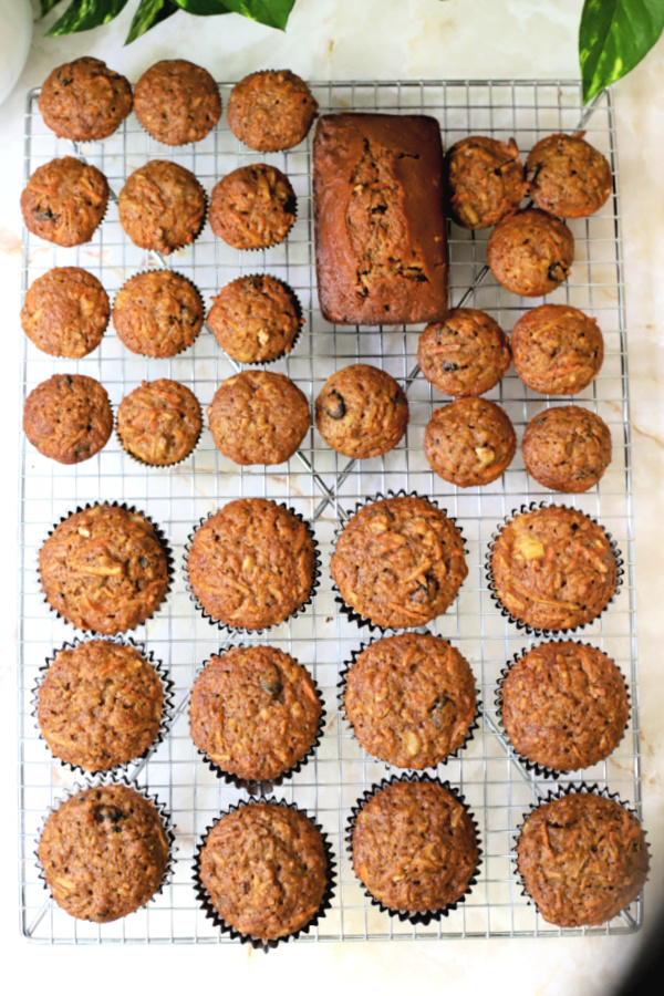Large batch Morning Glory Muffins