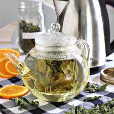 Orange Mint Tea