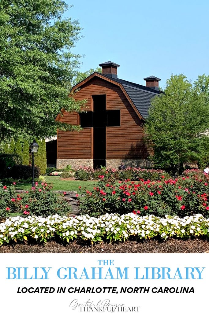When near Charlotte, NC, visit the Billy Graham Library when Ruth and Billy are interred. Stroll through the barn-shaped building designed to reflect his journey from a humble farm boy to a world-renowned ambassador of God's love.