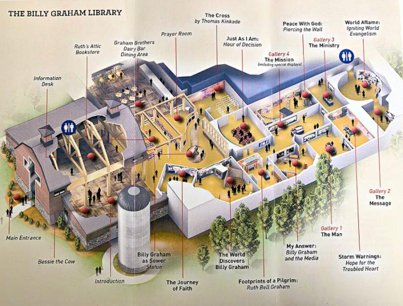 Billy Graham Library Journey of Faith Brochure